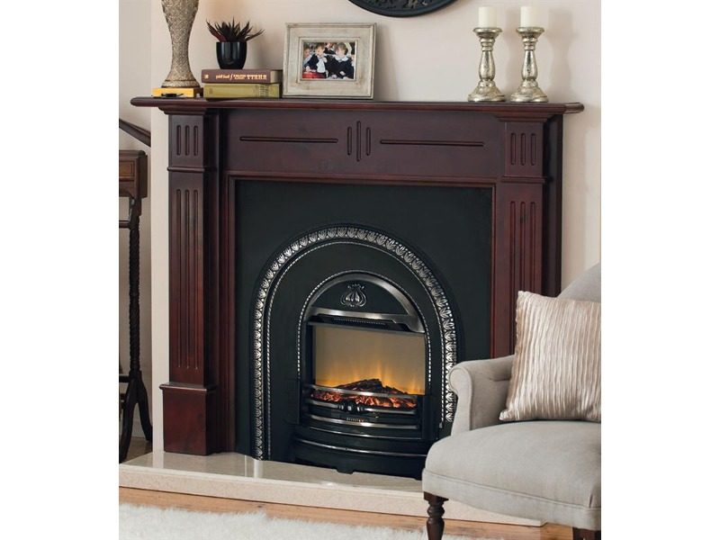 Energy efficient electric fireplace on Custom-Fireplace. Quality ...