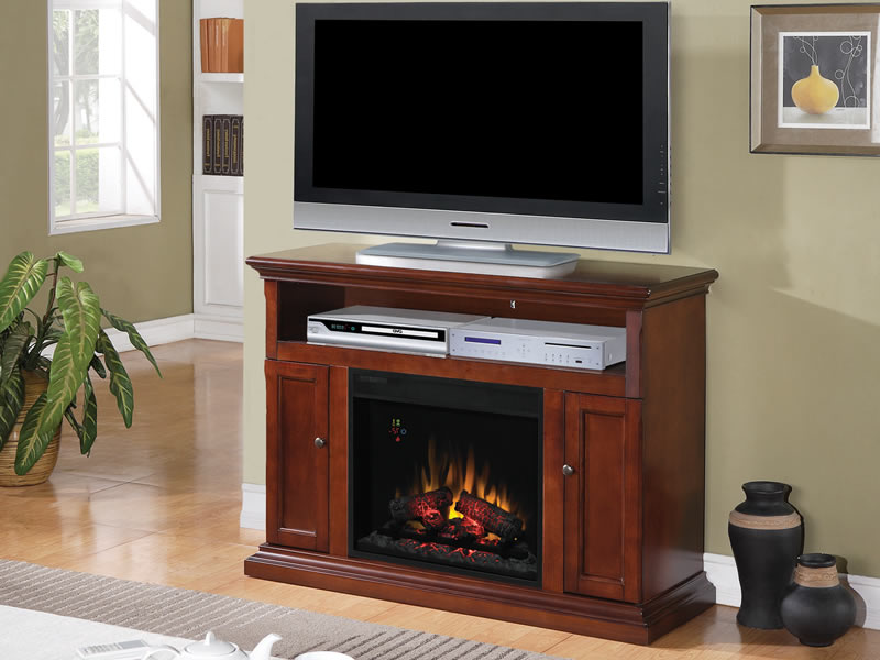 How To Decorate Electric Fireplace On Custom Fireplace