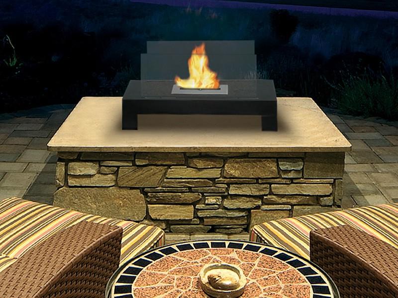 Dimplex Tessa Electric Fireplace On Custom Fireplace