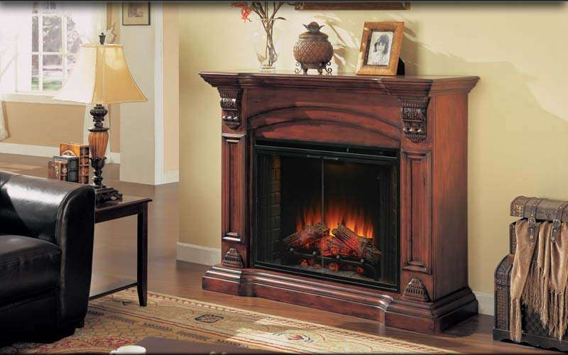 Electric wall mounted fireplace on Custom-Fireplace. Quality ...