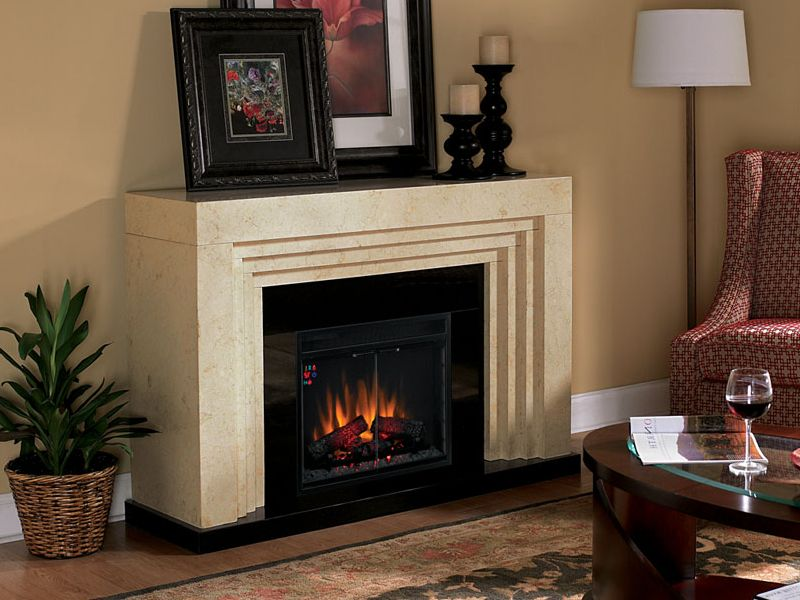 Used Electric Fireplace Canada On Custom Fireplace