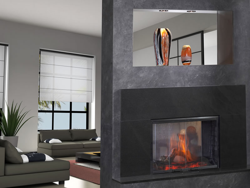 Capri Oak Electric Fireplace, Energy Efficient Electric Fireplace, Dimplex  Electric Stoves And Fireplace,