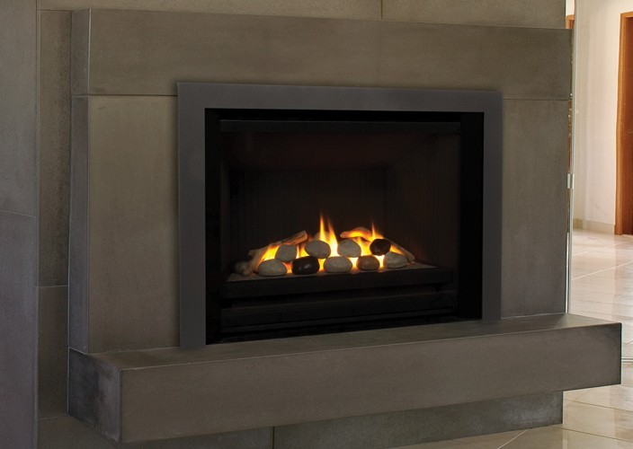 Fireplace Insert Hi300 Hampton On Custom Fireplace