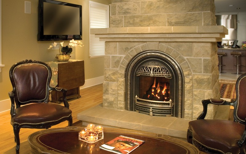 Dare Fireplace Insert On Custom Fireplace Quality