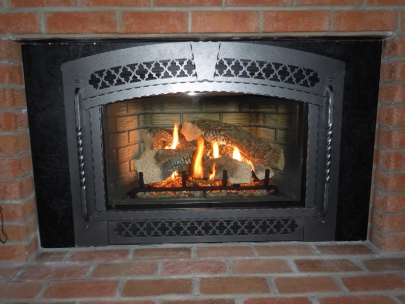 Gas Fireplace Insert Wholesale On Custom Fireplace