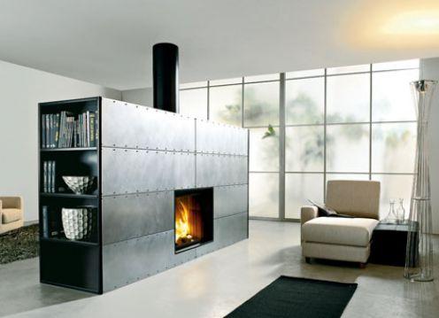 Kiva Steel Fireplace Insert On Custom Fireplace Quality
