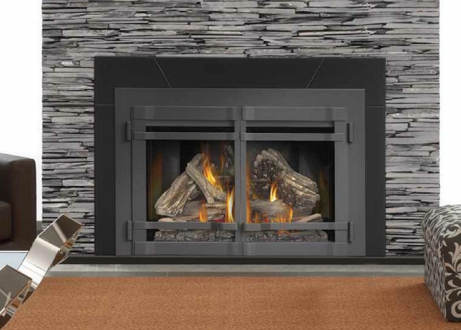 Lopi Fireplace Insert On Custom Fireplace Quality