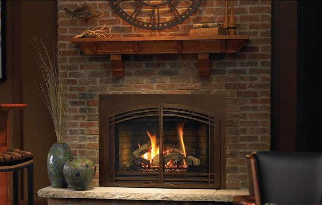 Zero Clearance Wood Burning Fireplace Insert On Custom
