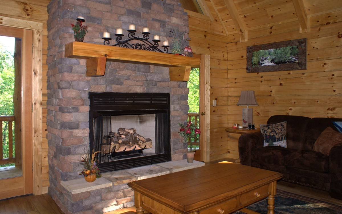 How To Build A Fireplace Mantel For Stone Fireplace On