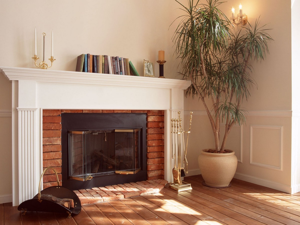Fireplace Mantel Decor On Custom Fireplace Quality