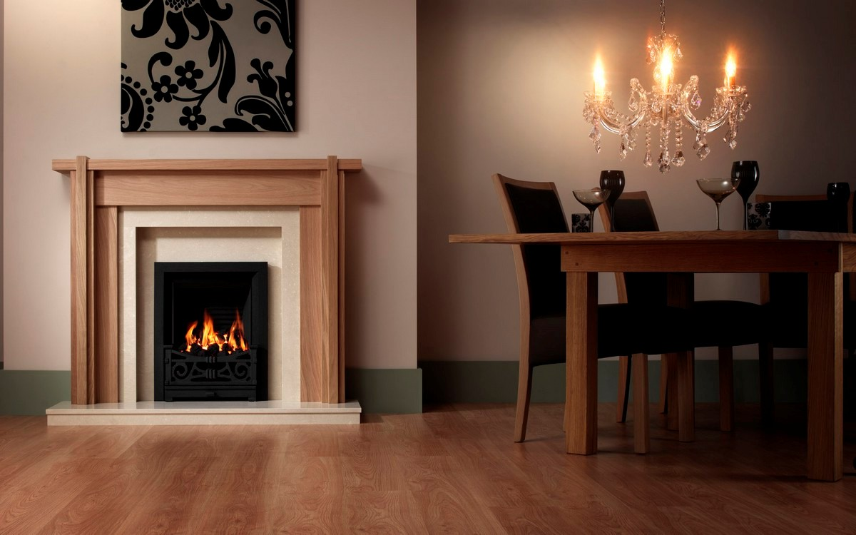 Mantel and fireplace surrounds vancouver on custom fireplace quality electric gas and wood - Mantelpiece surround ...