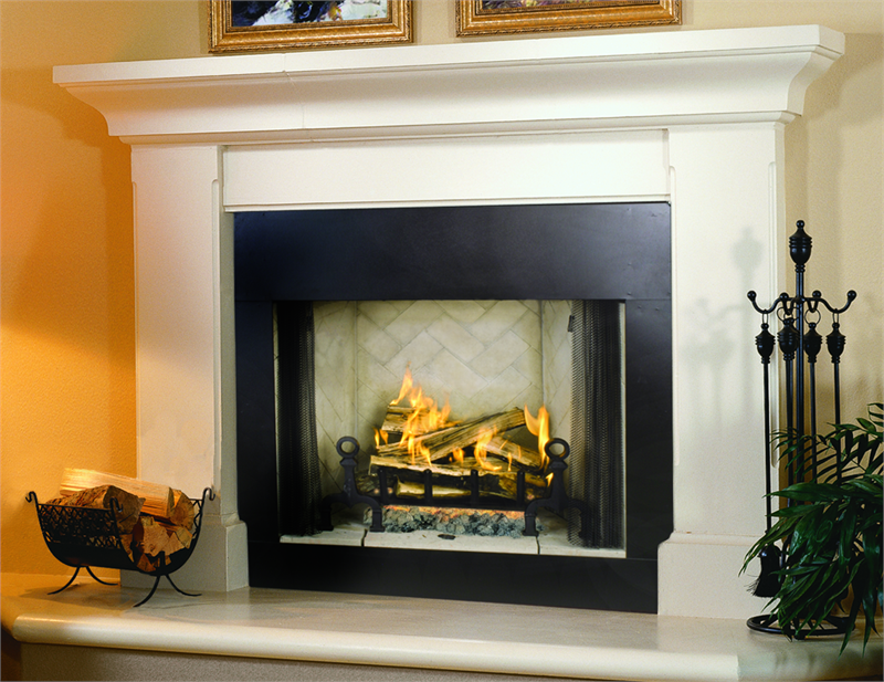 Electric Corner Fireplace Mantel On Custom Fireplace