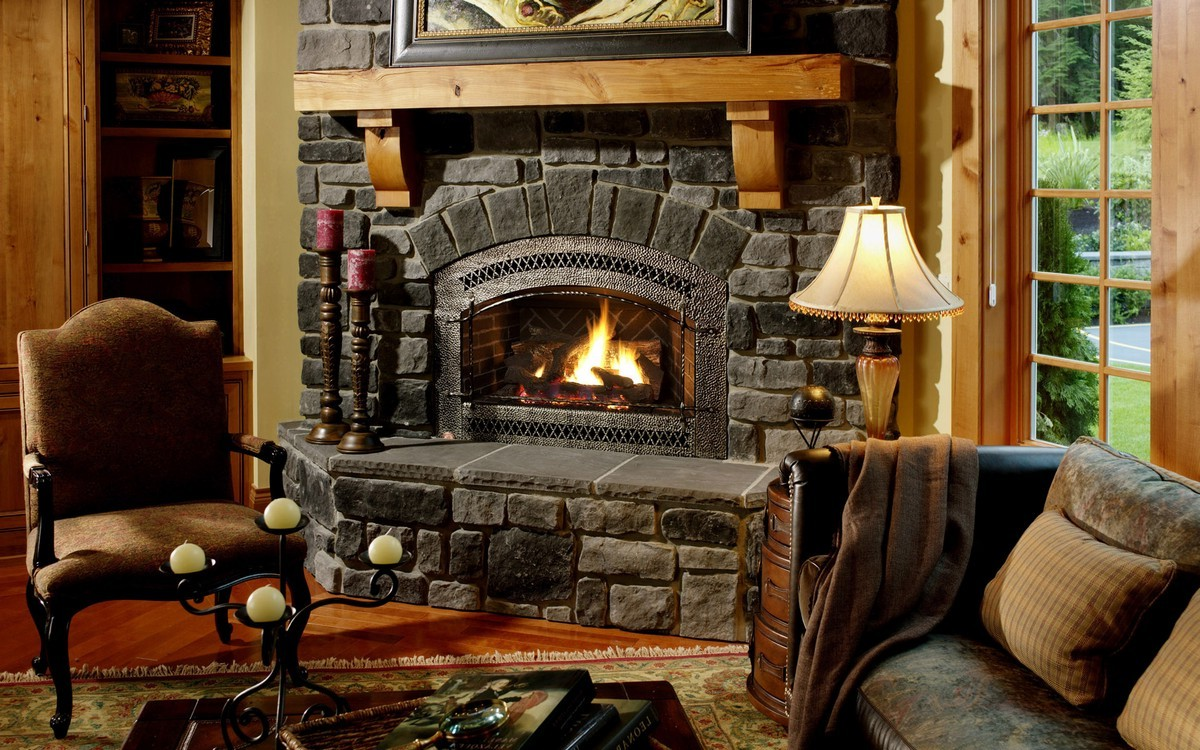 Amish Fireplace Mantel On Custom Fireplace Quality