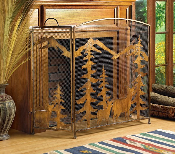 Fireplace screen photo frame on Custom-Fireplace. Quality ...