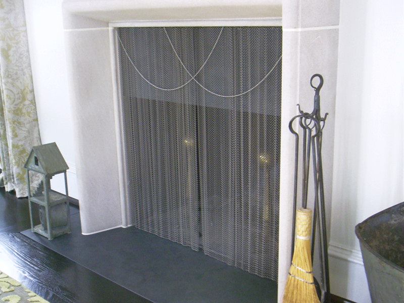 Extra Tall Fireplace Screen On Custom Fireplace Quality