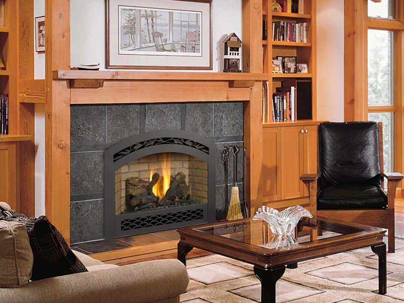 Wall mount gas fireplace on Custom-Fireplace. Quality electric ...