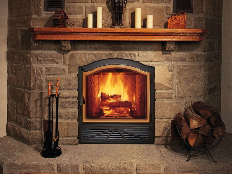 Napoleon Gas Fireplace On Custom Fireplace Quality