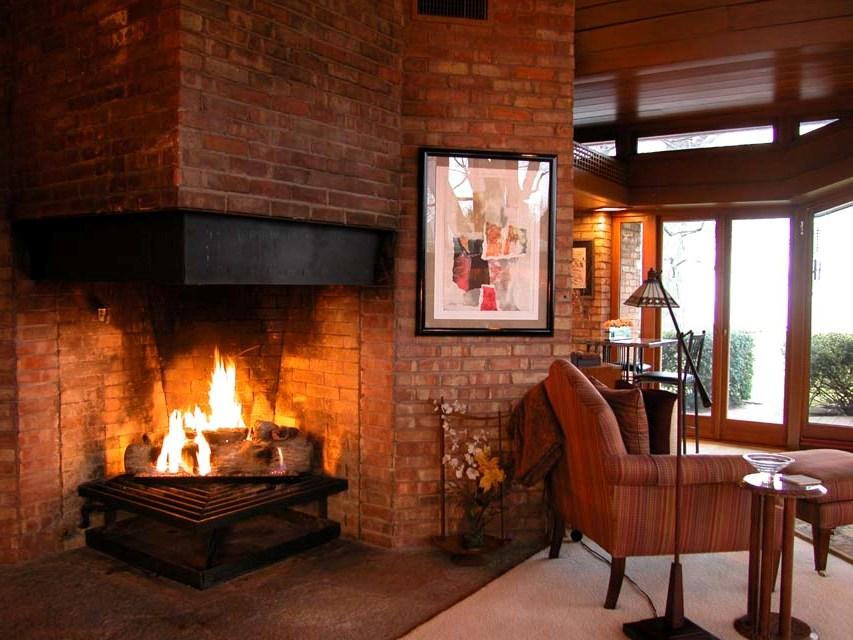 Gas Ventless Fireplace On Custom Fireplace Quality