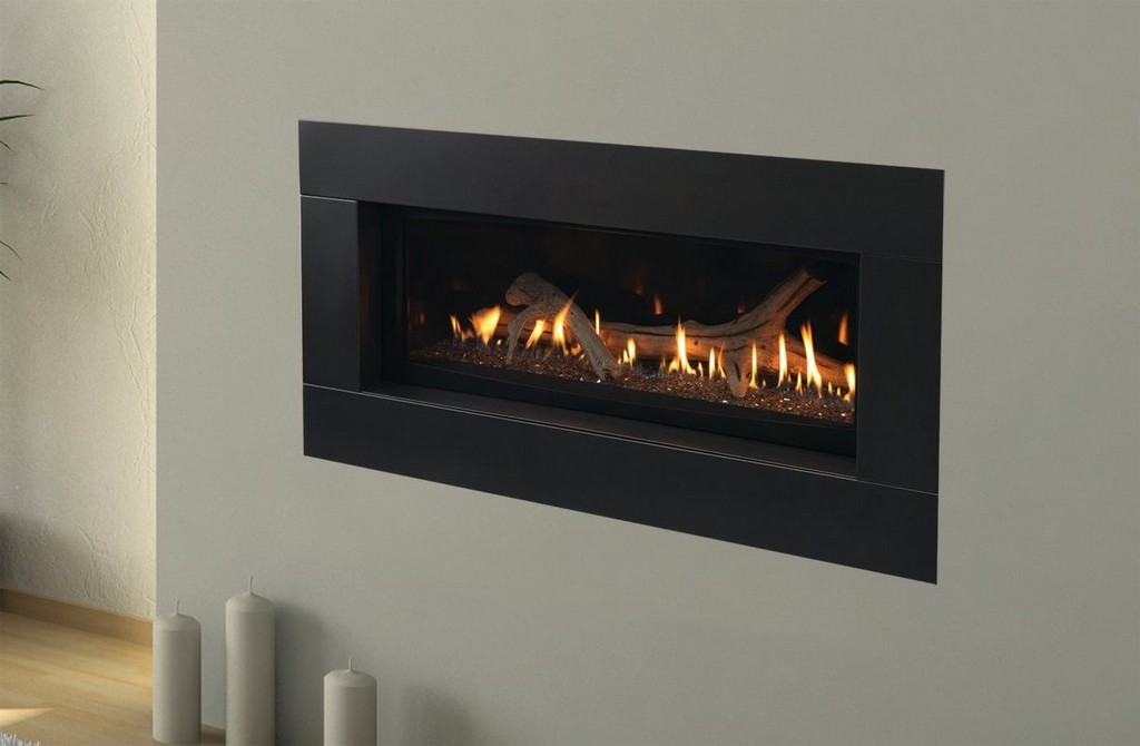 Modern Gas Fireplace On Custom Fireplace Quality Electric