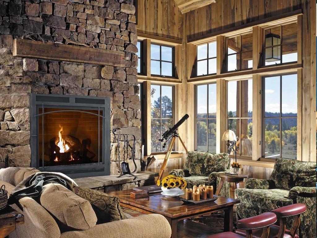 3 Sided Gas Fireplace On Custom Fireplace Quality