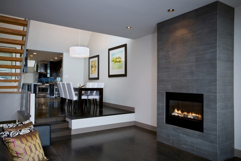 Vented gas fireplace on Custom-Fireplace. Quality electric ...