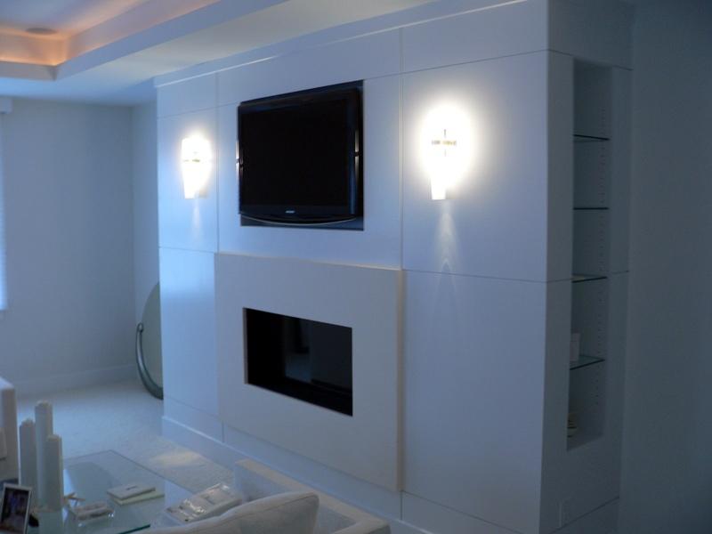 Corner Ventless Gas Fireplace On Custom Fireplace Quality