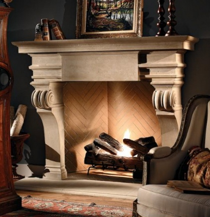renaissance fireplace design