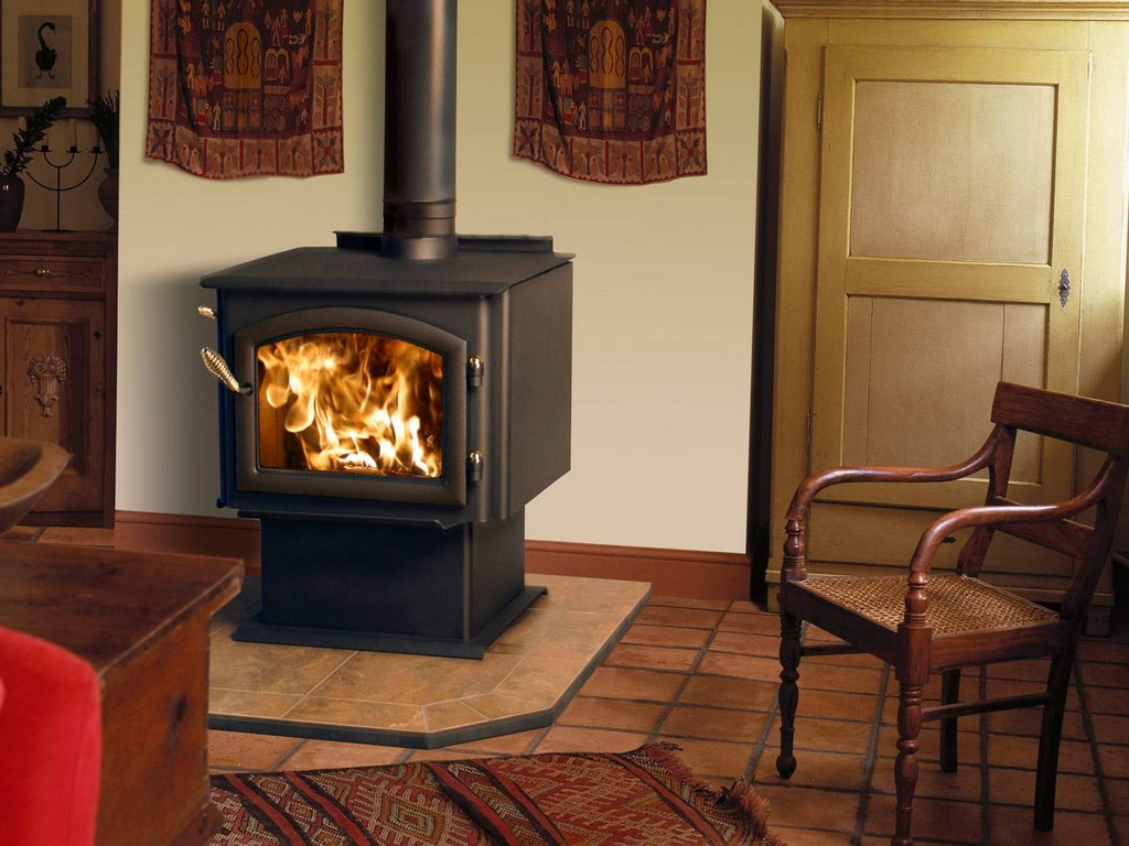 Wood Stove To Boiler On Custom Fireplace Quality Electric