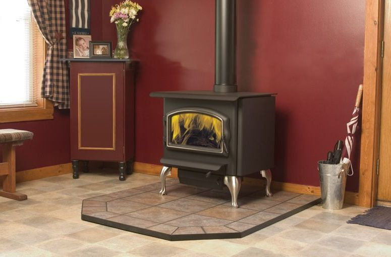 Franklin wood stove on Custom-Fireplace. Quality electric ...