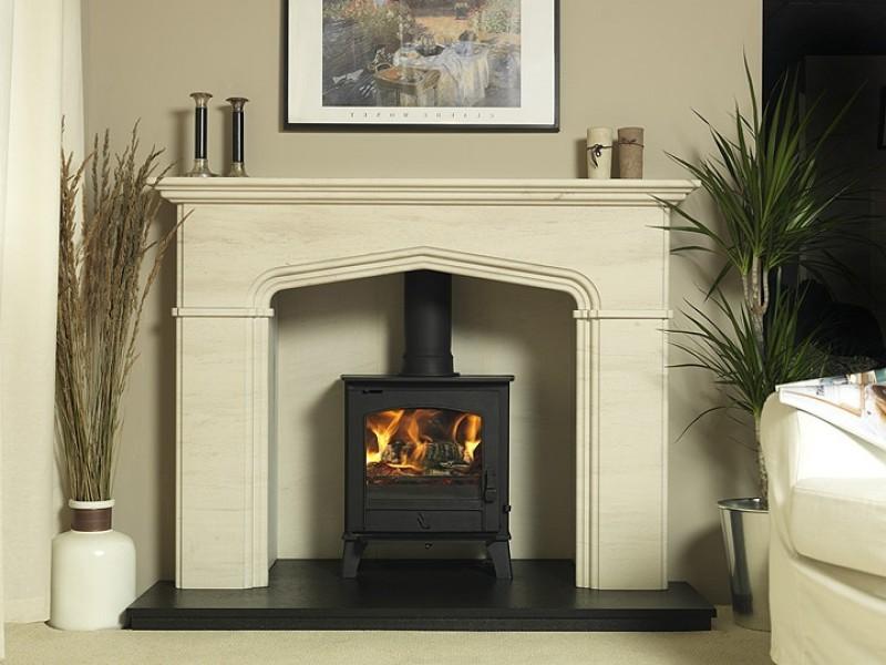 Ashley wood burning stove on Custom-Fireplace. Quality electric ...