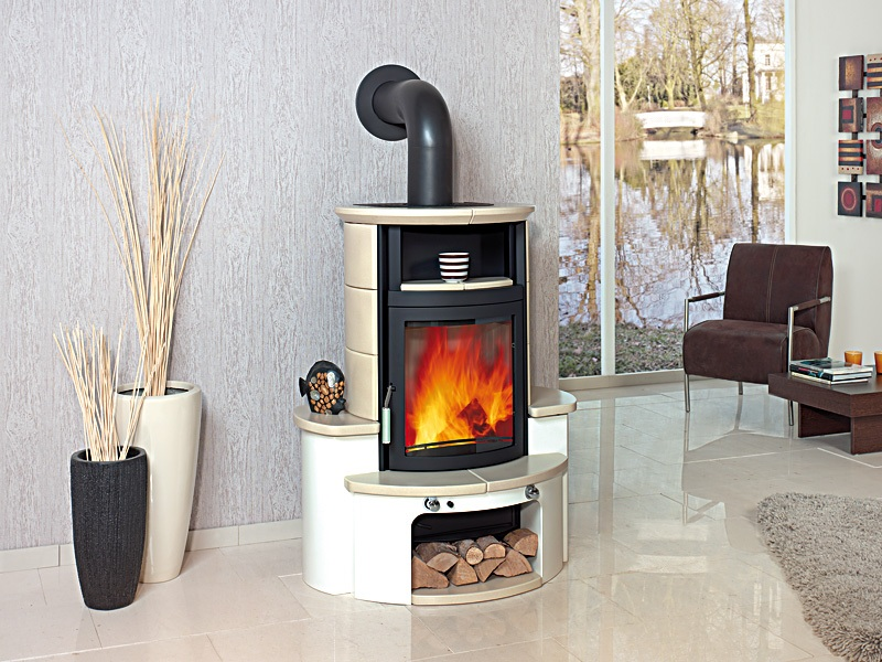 Wood Stove Chimney On Custom Fireplace Quality Electric