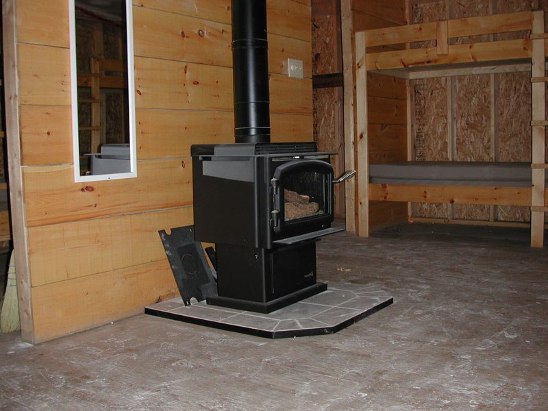 How To Install Wood Stove On Custom Fireplace Quality