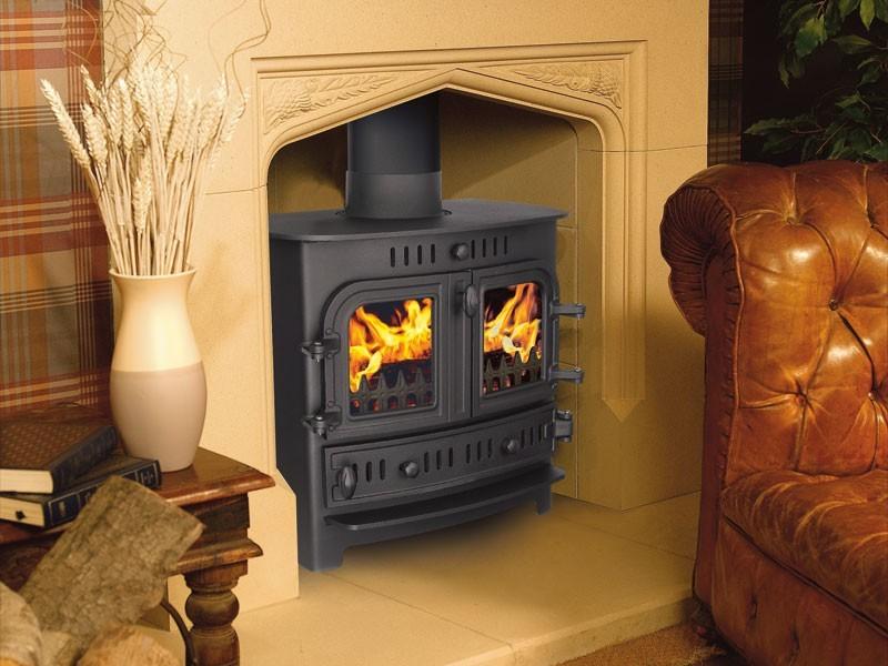 Mini Wood Stove On Custom Fireplace Quality Electric Gas
